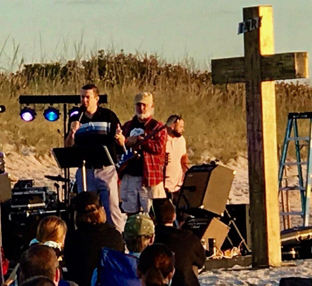 Rev Jason Carter gives the Easter message