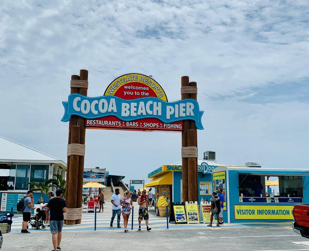 Cocoa Beach Pier A Destination